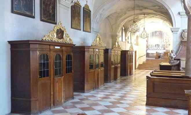 Credencia Iglesia : Partes de la iglesia