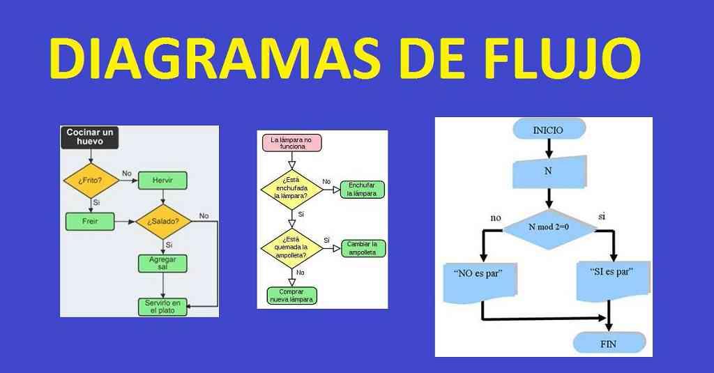 Partes del diagrama de flujo