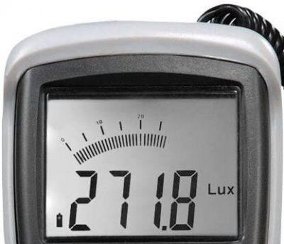Partes del luxómetro