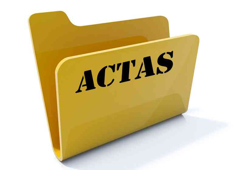 Resultado de imagen para ACTA