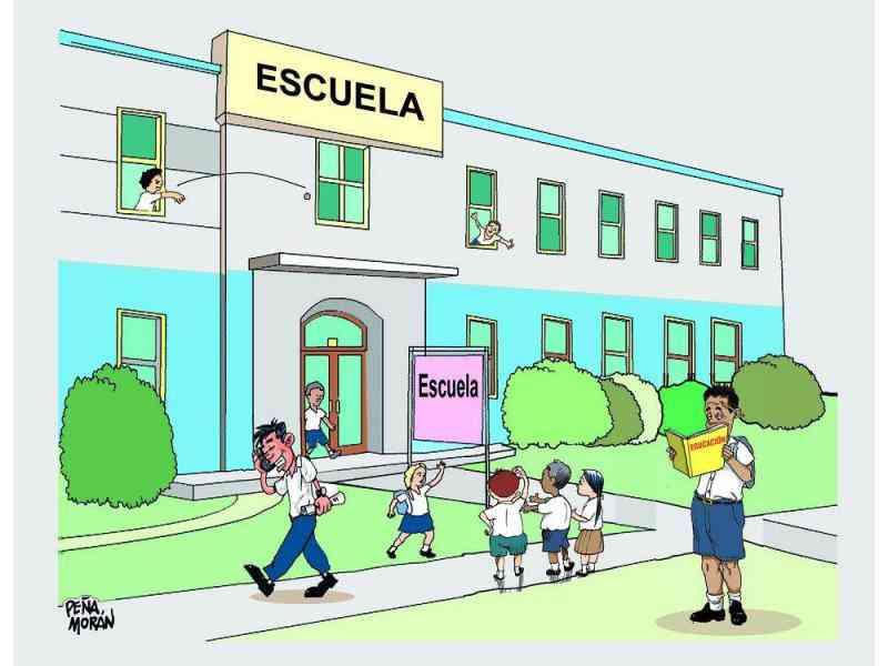 Partes De La Escuela