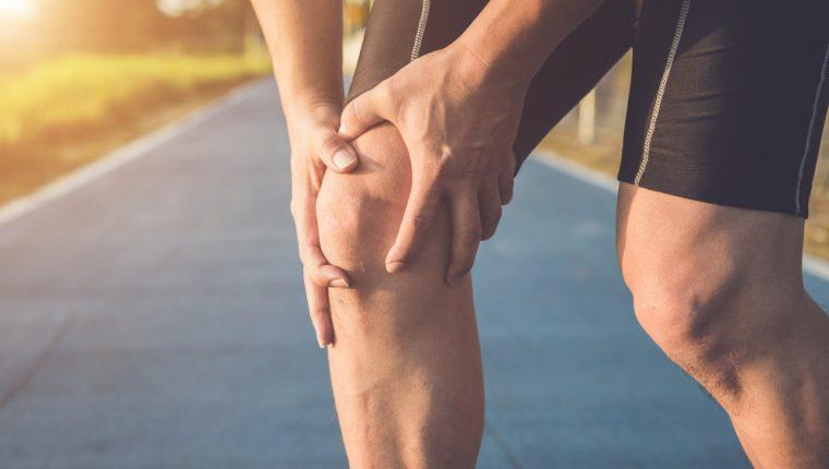 Partes de la rodilla derecha