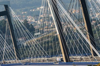Partes del puente colgante